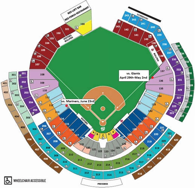 Mariners seating chart awesome home
